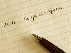 Ik ga schrijven...
